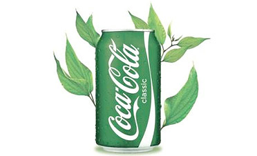 coke green