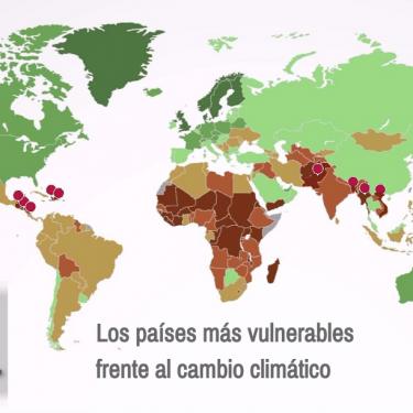 Los países más vulnerables al cambio climático