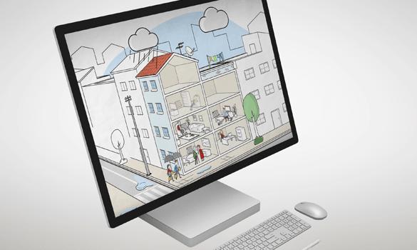 Campaña de comunicación para la promoción de la rehabilitación energética de edificios. FEMP y La casa que ahorra